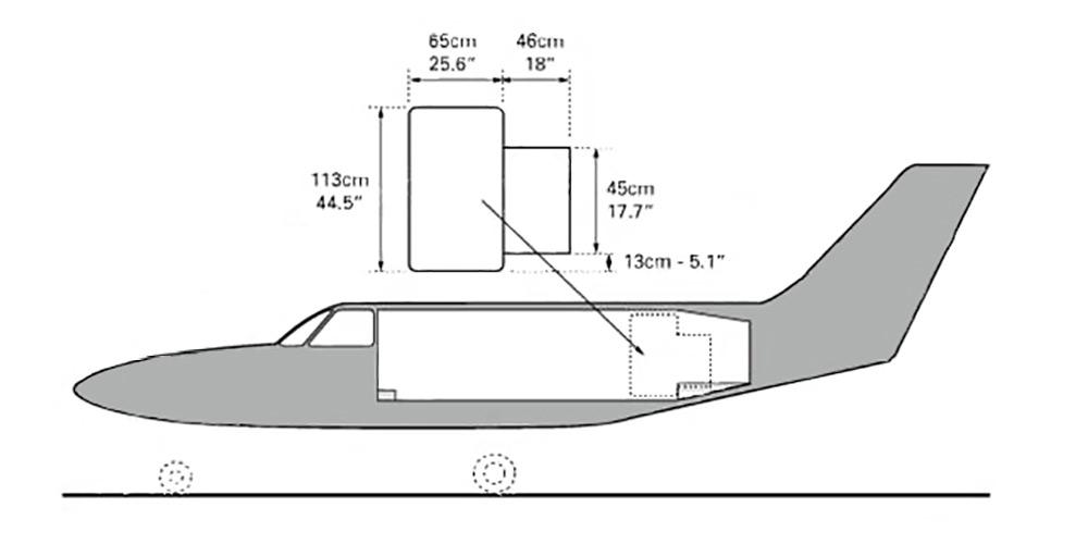 Piper Chieftain diagram