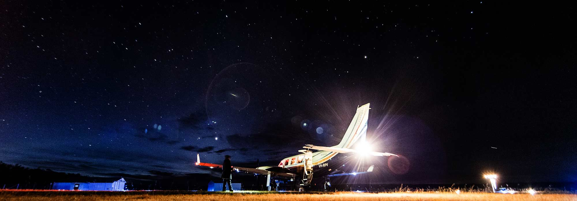 Aircraft Charter | Air Charter | Charter Flights - Stanthorpe night operations