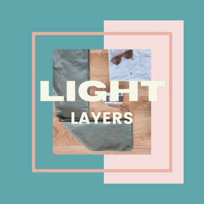 Pack light layers