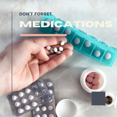 Bring your medications